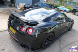 Nissan GT R35 2008-2018 Carbon Gumey Flap add on spoiler - 4 Second Racing Club