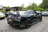 Nissan GT R35 V Style Rear Full Carbon Fibre GT Spoiler - 4 Second Racing Club