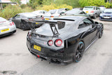 Nissan GT R35 GT style rear carbon lower bumper parts/valance CBA car - 4 Second Racing Club
