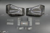 Nissan GT R35 Carbon fibre front Brake Cooling Guide Kit - 4 Second Racing Club