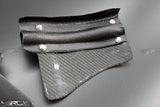 Nissan GT R35 Carbon fibre Rear Brake Cooling Guide Kit - 4 Second Racing Club