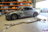 "Nissan GTR R35 2008- 2019 Full Titanium Exhaust 4"" System - 4 Second Racing Club"