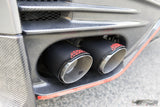 Nissan GT R35 Carbon fibre exhaust tips - 4 Second Racing Club