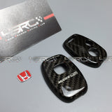 Honda Mugen dry carbon 2 buttons key fob case - 4 Second Racing Club