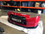 Nissan GT R35 Carbon CBA 2009-2011 Nismo style Front Lip Splitter and Brake Cooling - 4 Second Racing Club