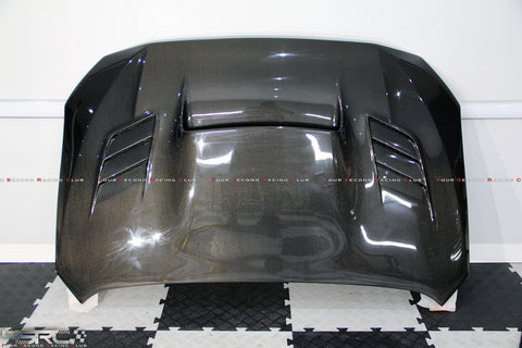 2015-2019 Subaru WRX STI Carbon bonnet - 4 Second Racing Club