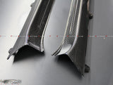 Nissan GTR R35 Carbon Fibre Replacement Door Sills 2008-2019 - 4 Second Racing Club