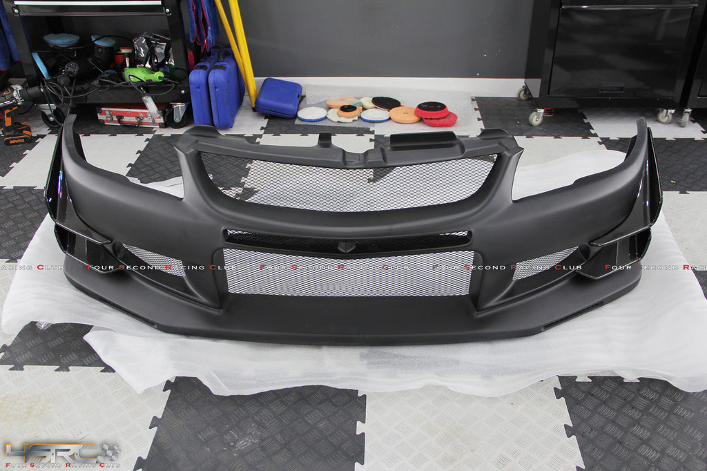 Mitsubishi Evolution Lancer 789 Street Race Vision Front Bumper - 4 Second Racing Club