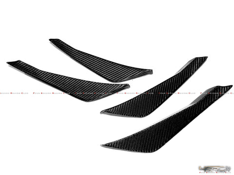 4SRC Design 2017-2019 EBA GTR35 dry carbon canards - 4 Second Racing Club