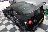 Nissan GT-R35 N Attack Style Dry Carbon Rear Spoiler Wing - 4 Second Racing Club