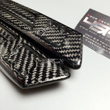 Nissan GT R35 Carbon Fibre Front Fender Logo Holders Emblems CBA - 4 Second Racing Club
