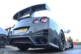 Nismo style rear bumper with full carbon rear valance - 4 Second Racing Club