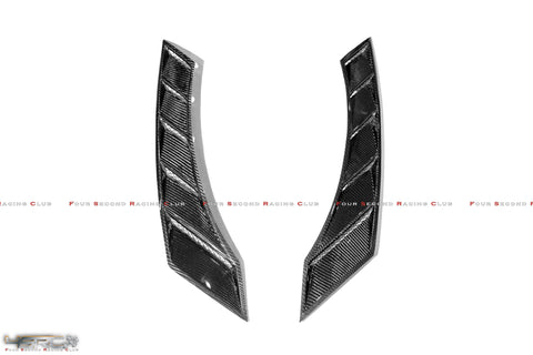 4SRC Nissan GTR35 Dry Carbon N Series Fender Wing Vents - 4 Second Racing Club