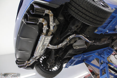 Audi TTS 8J Valved Exhaust System - 4 Second Racing Club