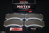 Motek Racing performance brake pads RS800 Nissan GTR35/Mercedes-Benz C63/C63S front calipers - 4 Second Racing Club