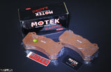 Motek Racing performance brake pads ST600 Nissan GTR35/Mercedes-Benz C63/C63S front calipers - 4 Second Racing Club