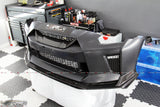 Nissan 4SRC MY17 style OEM front bumper with OEM style splitter - 4 Second Racing Club