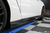 4SRC Design Nissan GTR35 Carbon Side Skirts - 4 Second Racing Club