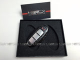 Nissan GT R35 Dry Carbon KeyFob Cover Fitted Shape also infiniti 370z - 4 Second Racing Club