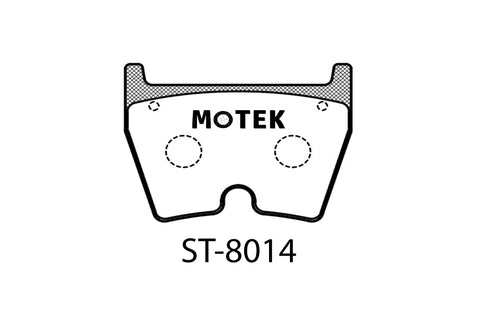 Motek Racing performance brake pads Audi R8/ Lamborghini front calipers