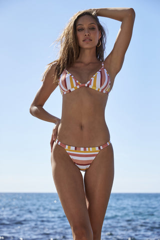 MINKPINK Barbados Band Bikini Bottoms