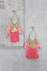 Ettika Destiny Around You Tassel Earrings