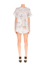 House of cards floral top