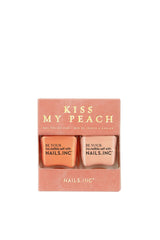 Kiss My Peach Scented Nail Polish Duo Set