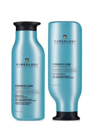 Strength Cure Shampoo & Conditioner Duo 266ml