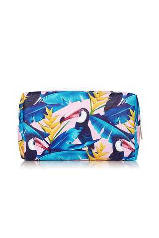 Coconut Lane Tropical Toucan Make up bag