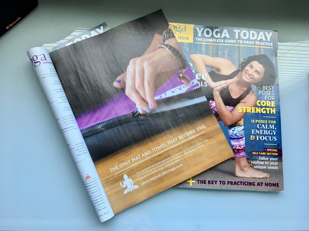 OMie Yoga Featured in the Special Issue of Yoga Journal