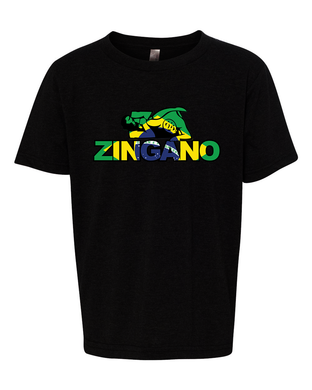 Zingano Brazilian Flag KIDS Shirt