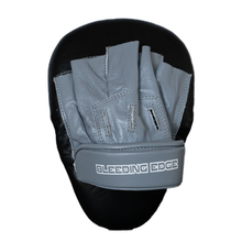 Load image into Gallery viewer, Curved Punching Mitts - Grey/Black
