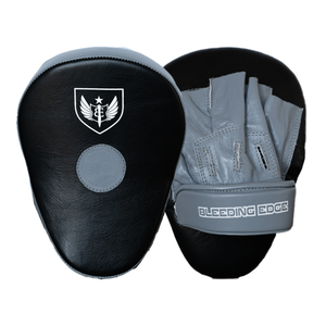 Curved Punching Mitts - Grey/Black
