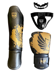 Black and Gold - Basic Plus Package - Muay Thai Gear