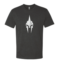 Load image into Gallery viewer, Spartan Skull Shirt - Gray/White