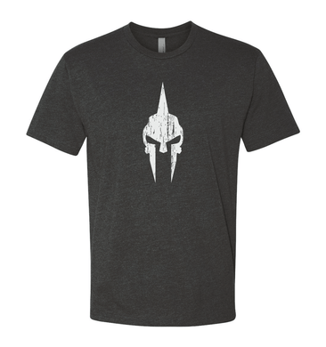Spartan Skull Shirt - Gray/White