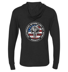 Authentic Brazilian Jiu Jitsu UNISEX Hooded Shirt