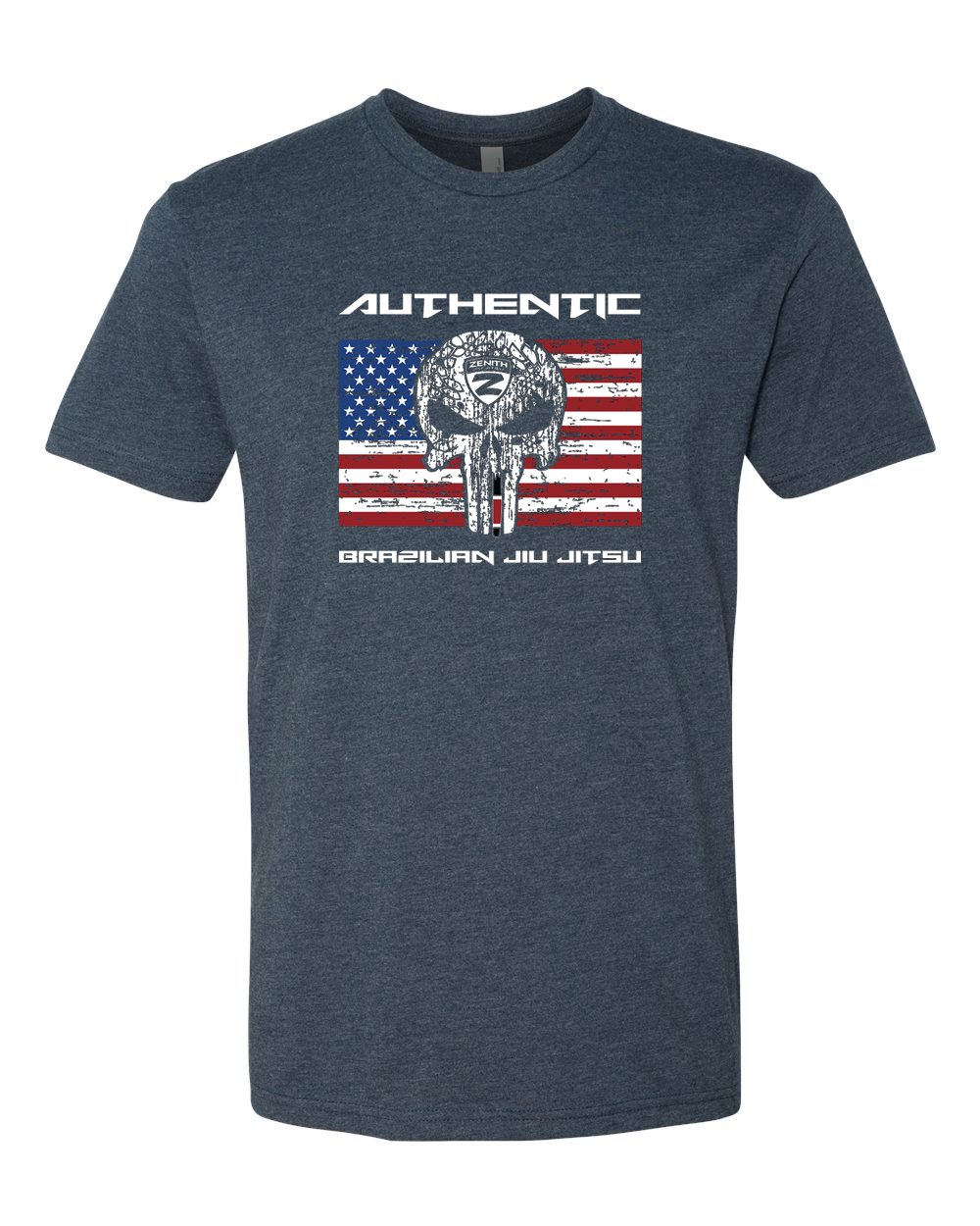 Authentic Brazilian Jiu Jitsu Mens Flag Shirt
