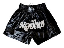 Load image into Gallery viewer, Muay Thai Shorts - Black/Black