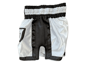 Muay Thai Shorts - White/Black