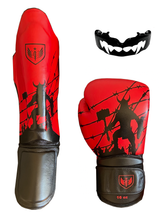 Load image into Gallery viewer, Bleeding Edge - War Hammer - Black and Red Basic Package