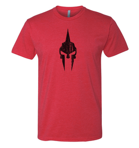 Spartan Skull Shirt - Red/Black