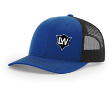 Load image into Gallery viewer, The Life Warrior Project Trucker Hat (grey/black)