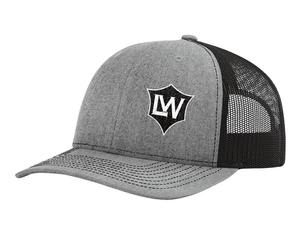 The Life Warrior Project Trucker Hat (grey/black)