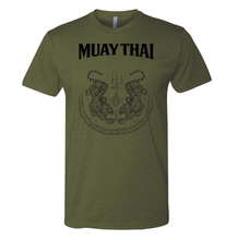 Load image into Gallery viewer, Twin Tigers Sak Yant - MUAY THAI SHIRT