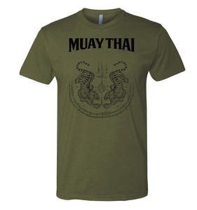Twin Tigers Sak Yant - MUAY THAI SHIRT