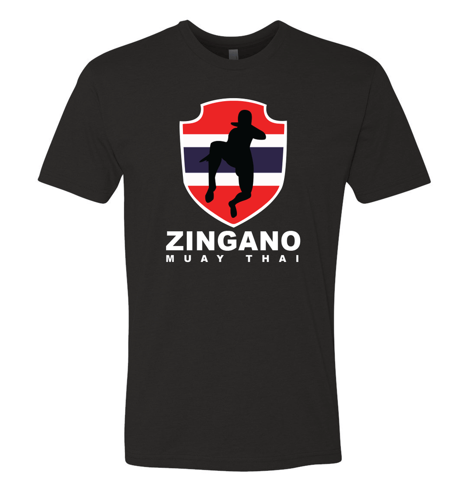 Zingano Muay Thai Flag Shirt