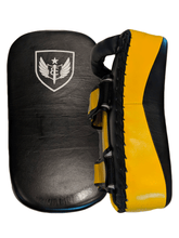 Load image into Gallery viewer, Premium Muay Thai Pads - Yellow/Black