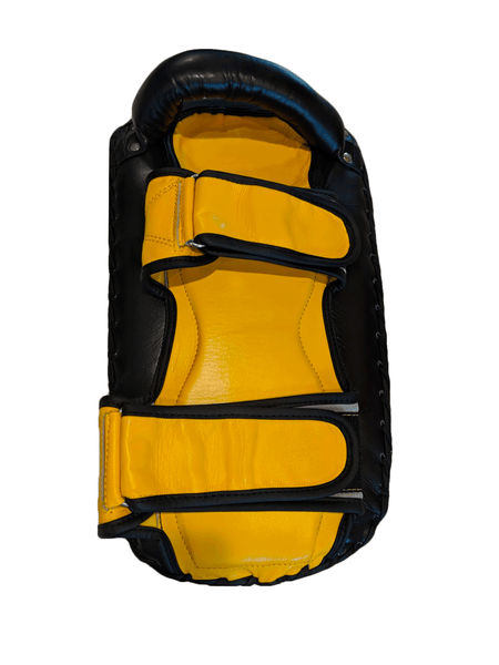 Premium Muay Thai Pads - Yellow/Black